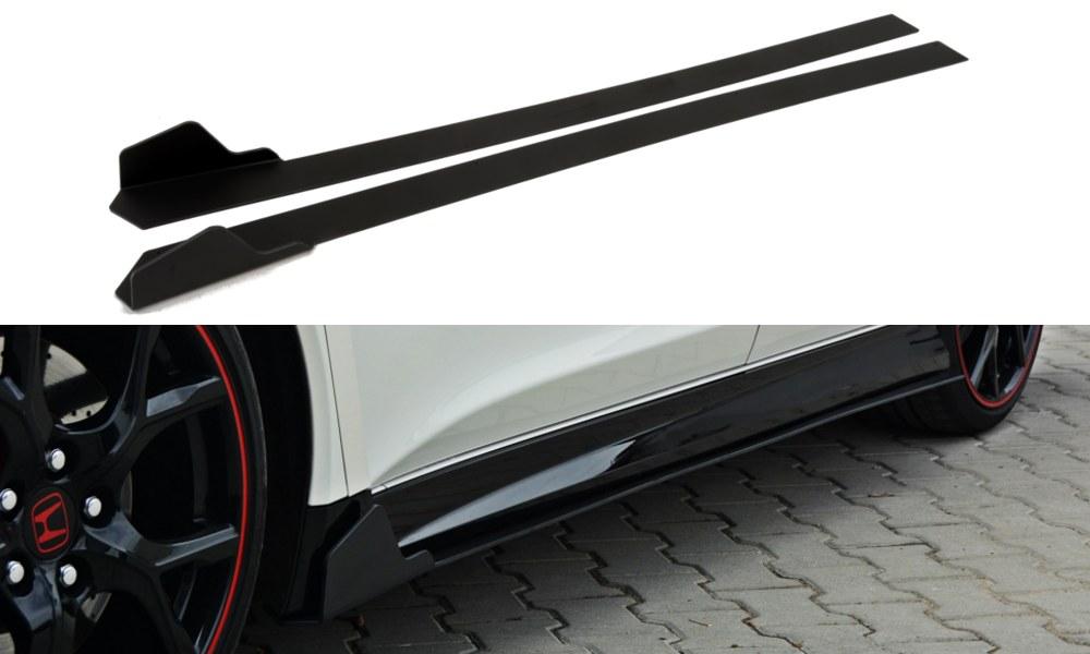 Dokładki Progów Racing Honda Civic IX Type R - GRUBYGARAGE - Sklep Tuningowy